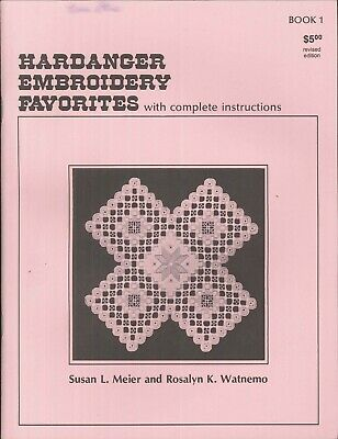 Hardanger Embroidery Favorites 1 Meier Watnemo Stitch Dictionary Doily Ornament
