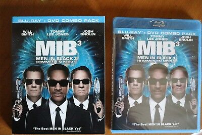 MIB3 Men in Black 3 blu-ray dvd combo brand new sealed Smith Jones Brolin