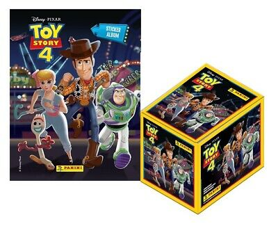 Panini Toy Story 4 Sticker Collection: 1 Album + 50 Sticker Pack Box