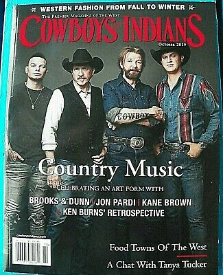 Cowboy & Indian Magazine featuring COUNTRY MUSIC, an Art Form-Brand New! Oct '19