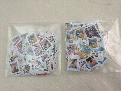 600 UNFRANKED 2nd CLASS XMAS STAMPS ON PAPER -FV £366