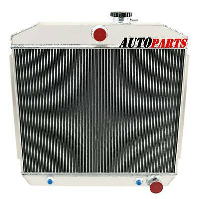 4 Row Aluminum Radiator Fits Chevy Bel-Air/Nomad/One-Fifty/Two-Ten V8 1955-1957