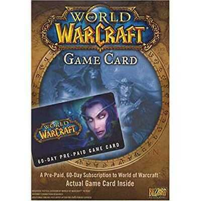 World Of Warcraft Teen Game Includes 60 Day Pre-Paid Card