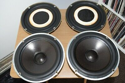 Pair Of Celestion 15XR Speaker Mid/Bass Drivers And Auxiliary Bass Units T2730