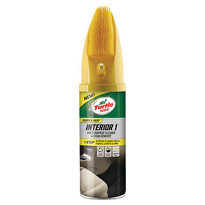 Turtle Wax Interior 1 Multi-Purpose Cleaner & Stain Remover Carpet Upholstery
