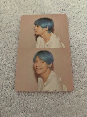 OFFICIAL BTS map of the soul PERSONA TAEHYUNG VERSION 1 PHOTOCARD *US SELLER