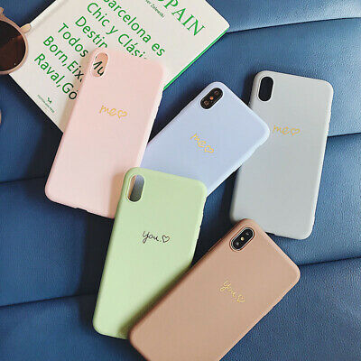 Coque Protection Amour Coeur ASntichoc Silicone Pour iPhone XS Max XR X 7 8 Plus