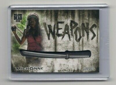 Walking Dead Hunters & The Hunted Michonne Commemorative Weapons Card (Katana)