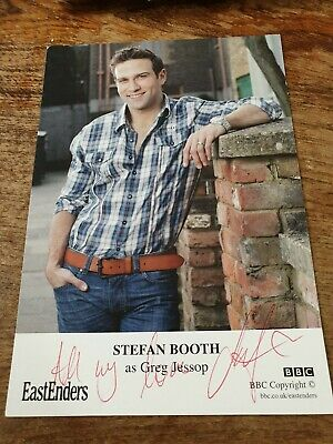 Stefan Booth Eastenders The Bill The Silence Signed Autograph Flyer 5 00 Picclick Uk