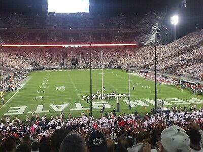 4 Penn State vs Idaho Football Tickets w/seat backs & under cover 8/31/19