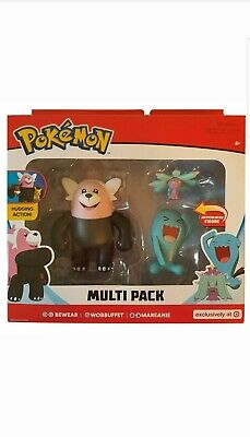 NEUF * Pokemon decidueye Evolution Multi Pack figurine Target Exclusive NEW IN BOX