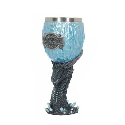 Game of Thrones Dragon Stark Coffee Mugs Stainless Steel Noble Blue Resin Cups