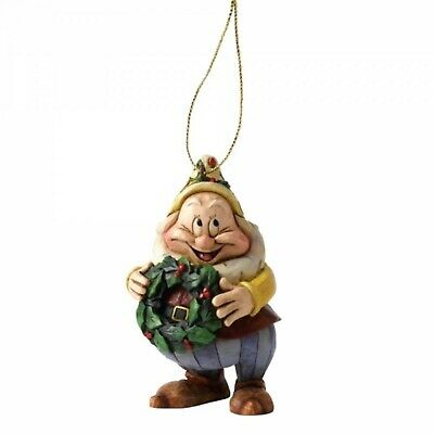 Disney Traditions Happy Christmas Hanging Ornament Snow White Jim Shore A9043