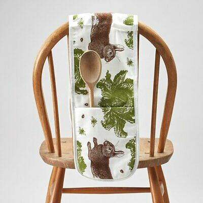 NEW Thornback & Peel Rabbit & Cabbage Double Oven Gloves Mitts