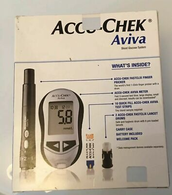 Accu Chek Aviva Blood Glucose Meter/Monitor/System - NEW & BOXED -