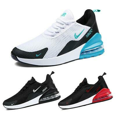 Mens Trainers Shoes Sports Running Shoes Air Max 270 Breathable Outdoor Sneakers