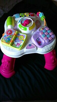 VTECH PLAY & LEARN ACTIVITY TABLE BABY TOY Good Condition - Missing phone