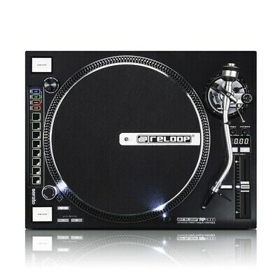 Reloop RP-8000 Advanced Hybrid Torque Direct Drive DJ Turntable Inc Warranty