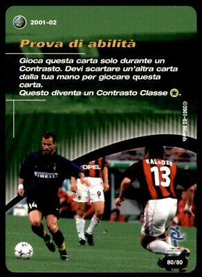 Wizards of the Coast Italy (2001-02) Prova di abilita - Tactic card No.T80
