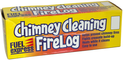 Chimney Cleaning FireLog chimney Cleaner Fire Wood Burning Creosote Stove