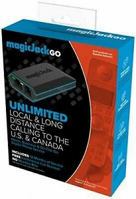 Magic Jack Go  Latest Model Plus 12 Months Free Service Included