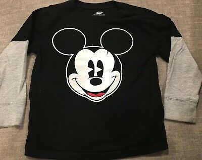 Mickey Mouse Old Navy Long Sleeve Shirt, 3t Disney