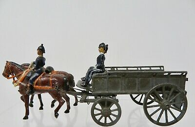BRITAINS Vintage 1920's Army Services Corps Wagon and Horse - Lot B61