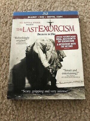The Last Exorcism Blu-ray Disc NEW SEALED with Slipcover 2-Disc Set Horror