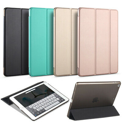 iPad Case Magnetic Flip Smart Leather Cover for Apple iPad 6th Gen 9.7 inch 2018