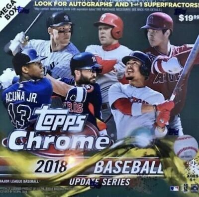 2018 Topps Update CHROME Stars & Commons, You pick!  Complete your set!