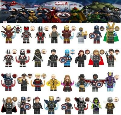 New Avengers 300+ Lego Fit Minifigures Marvel Endgame Thanos Iron Man Thor