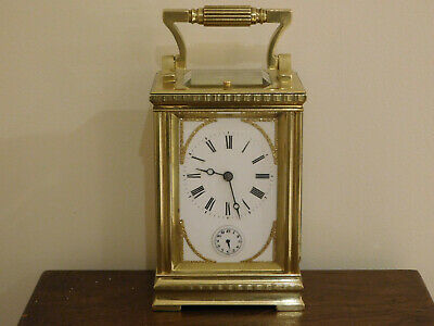 Antique Grande Sonnerie Repeat Carriage Clock By Parkinson And Frodsham, London.