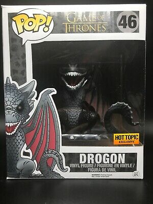 "Funko POP! Game Of Thrones 6"" Drogon #46 Hot Topic Exclusive"