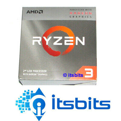 AMD RYZEN 3 3200G AM4 2nd GEN 3.6Ghz (4.0Ghz BOOST) 4 CORE RX VEGA 8 GRAPHICS
