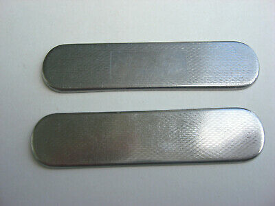 VICTORINOX 58mm Stainless Steel SCALES/HANDLES PARTS for Broker / Ensign