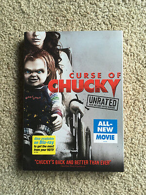 Curse of Chucky DVD, 2013, Unrated Rated Version Included