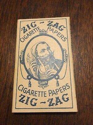 Zig zag WWII Era 1940's rolling papers New Old Stock  vintage