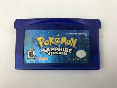 POKEMON: SAPPHIRE VERSION [NEW BATTERY!] - Nintendo Game Boy