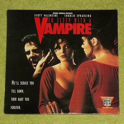 TO SLEEP WITH A VAMPIRE [Horror] - RARE 1993 USA LASERDISC (Cat No. ID2561NH)