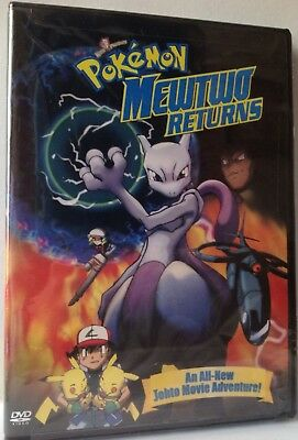 Pokemon: Mewtwo Returns (DVD, 2001) NEW & FACTORY SEALED!