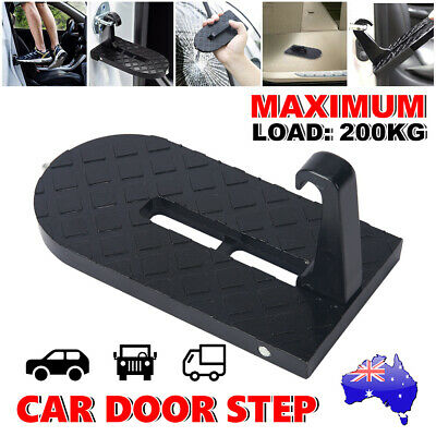 Doorstep Vehicle Access Roof Of Car Door Step Give You Latch Easily Rooftop Hook