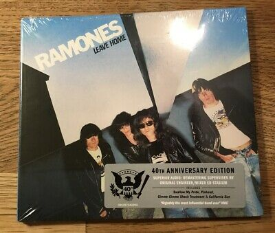 RAMONES - LEAVE HOME 40th anniversary edition Remastered CD Digipack Neuf