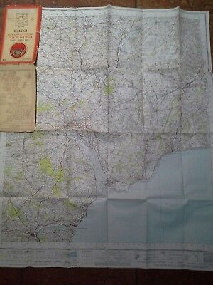 Vintage 1946 Exeter Ordnance Survey Map 176 One Inch Very good condition