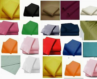 Sewing Fabric Plain Cotton Blend For cushion bed Sheet Crafts Quilting Patchwork