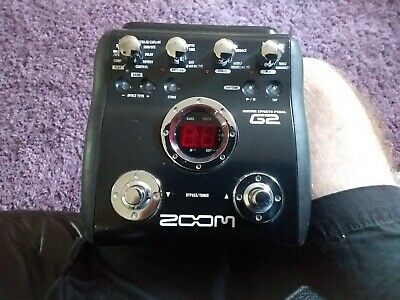 Zoom guitar effects pedal - G2