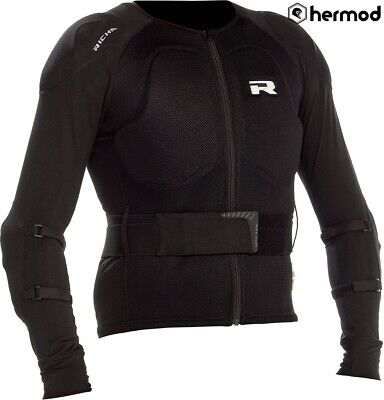 Richa D30 Force Armoured Motorcycle Under Jacket - Black