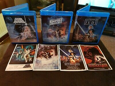 ORIGINAL STAR WARS Despecialized Trilogy  Deluxe Edition
