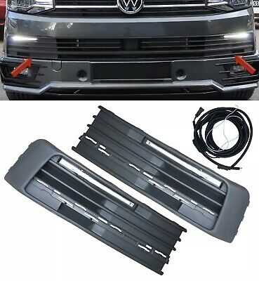 For Vw Volkswagen Transporter Drl T6 Daytime Running Lights*Kits Upgrade Led Oem