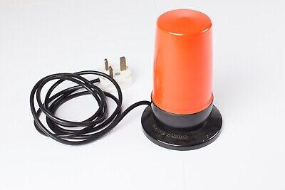 Paterson Orange Darkroom Safelight - Good Working Condition + lead and plug