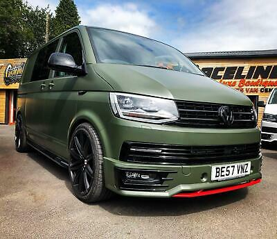 VW Transporter T6 2.0 204ps SWB DSG T32 RACELINE CUSTOM WRAP EDITION